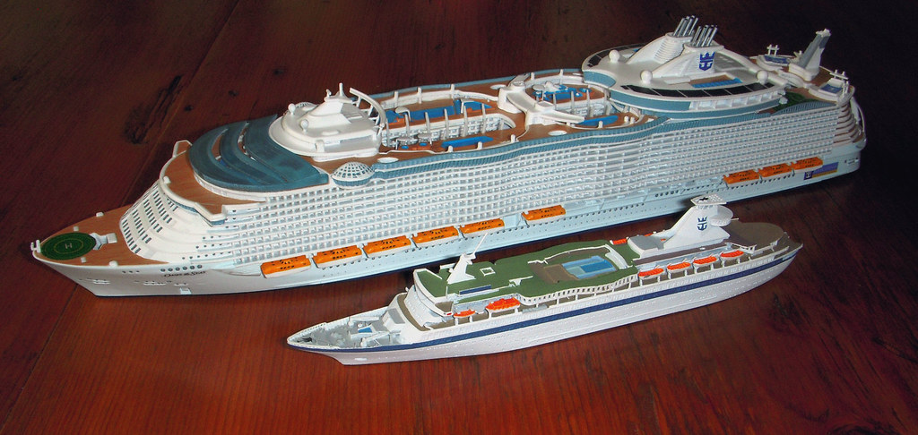 Oasis of the Seas Size Comparison