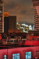 Shanghai Roofs (Andy Brandl (PhotonMix.com)) Tags: china abstract architecture asia shanghai nightshot nopeople roofs sfchronicle 96hrs ctrippic photonmix gettyimageschinaq1 andybrandl