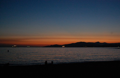 Vancouver - English Bay sunset