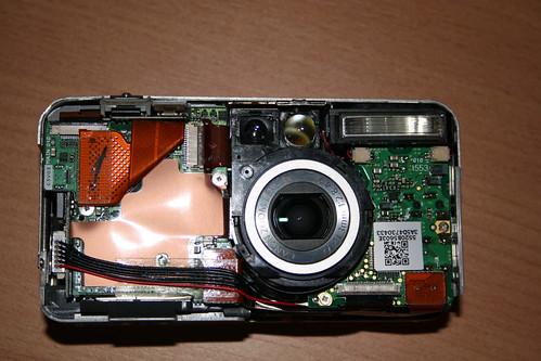 Canon S50 Powershot disassembled