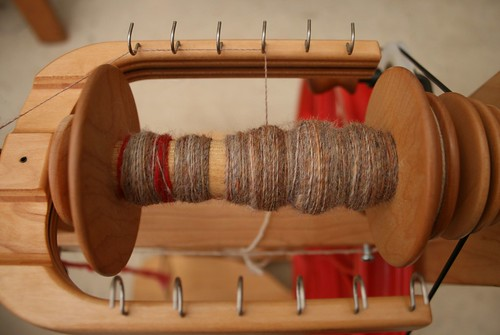 Blend on the bobbin