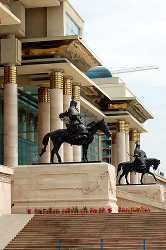 Sukhbaatar Square 蘇赫巴托廣場, Ulaanbaatar 烏蘭巴托