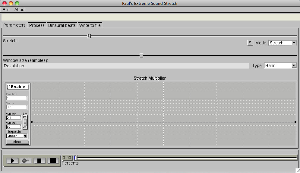 Paul's Extreme Sound Stretch ported to OS X - Logic Pro Help
