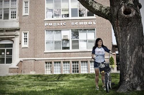 La original Degrassi Junior High es la Vincent Massey Public School