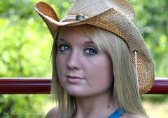Anna Melissa ♥ (Tracey Tilson Photography) Tags: portrait anna senior nc nikon north july melissa carolina cowgirl 2010 d90 pregamewinner
