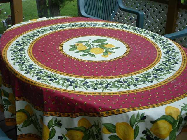 cottage tablecloth