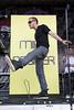 Mike Posner @ Vans Warped Tour, Comerica Park, Detroit, MI - 07-30-10