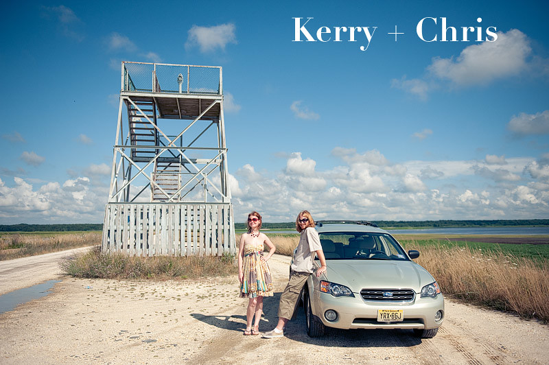Kerry + Chris, Forsythe National Wildlife Refuge