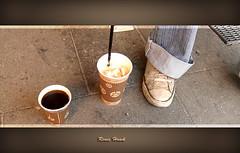 Coffee to go ... (renee.hawk) Tags: coffee shoes kaffee schuhe musicpicture pp2010 karte111
