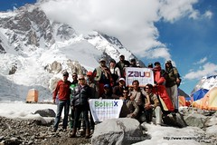 K2 Base Camp Trekkers and Mountaineers (rizwanbuttar) Tags: camp trekkers k2 launch product base mountaineers solarix