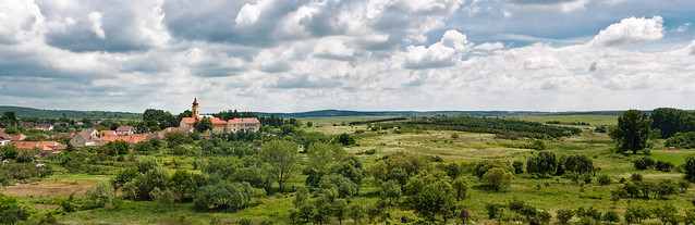 View from Castle of Kisnána