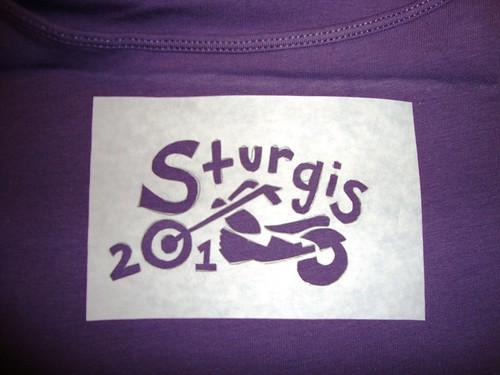 Sturgis Tanktop Design - Stencil