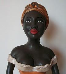 boneca baiana (ATELIÊ Cinthya Vaz - artista plástica) Tags: de boneca namoradeira gessobaiana