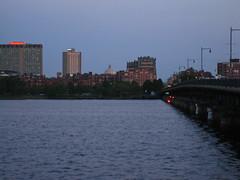 IMG_5168 (kz1000ps) Tags: city cambridge sunset urban tower boston skyline architecture skyscraper golden massachusetts charlesriver potd hour johnhancock prudential backbay memorialdrive
