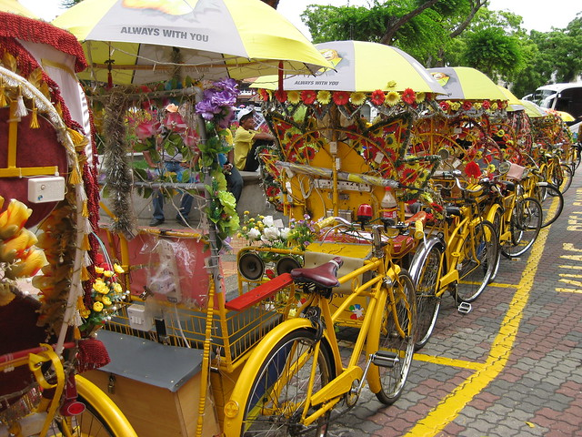 Colorful Trishaws