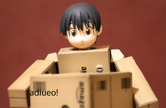 Man Behind The Box (adiueo!) Tags: danbo danboard