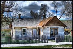 HDR #690 - Doctor Ryburn's House (Pete's Photo Magic) Tags: usa psp montana pentax hdr topaz photomatix k20d oncewashome