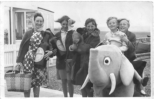 De Carteret Family, Hastings Promenade 1965