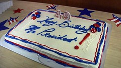 Birthday Cakes for the President-August 4, 2010