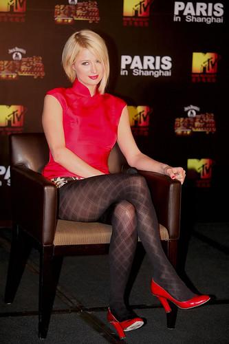 Short skirt asian shanghai chinese girl heels legs sexy - 1 part 2