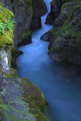 Avalanche Gorge (eatsShootsAndLeaves) Tags: travel vacation usa nature canon river landscape montana stream gorge glaciernationalpark hdr naturesfinest tonemapped canon5dmarkii
