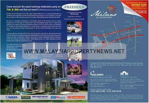 Milano Kemuning Freehold Bungalows for sale in Kemuning