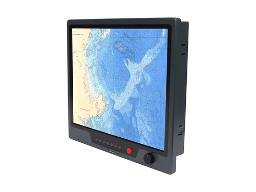 "17"" Marine LCD Monitor, Sunlight Readable Display by stealth.com"