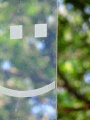 :) Happy Bokeh (: (MSVG) Tags: toronto ontario canada green smile mood bokeh smiley smilie emoticon