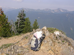 Crystal Peak summit.