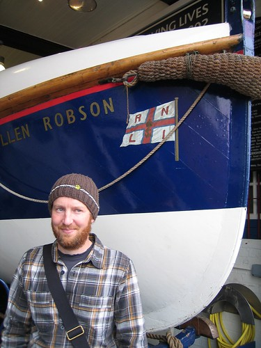 Ade and the lifeboat