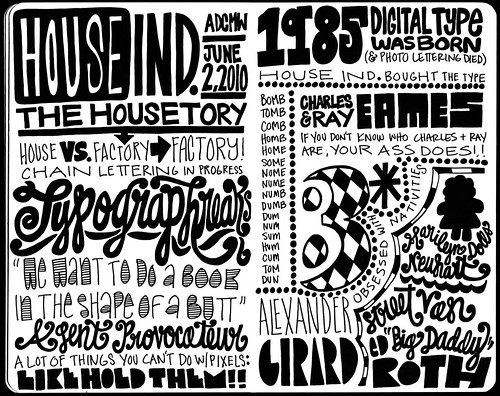 ADCMW House Industries, Sketchnotes