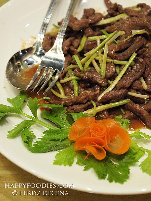 Shredded Beef Tenderloin