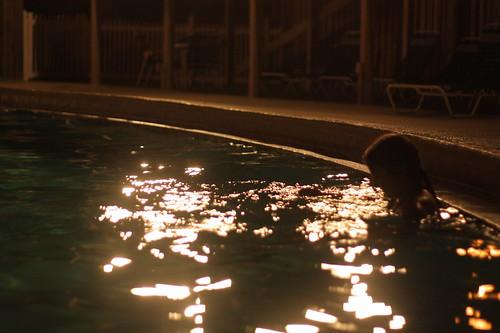 lily night swimming