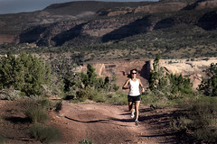Trail Running Stock (WilzFoto) Tags: usa sun colour colors sunglasses spring healthy shoes colorado colours desert hiking lifestyle run tights co wilderness aspen sprint job fit grandjunction womenshealth womensfitness trailrunning andrewwilz trailrunningproduct cathymann