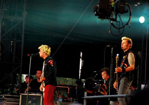 Green Day at Lollapalooza