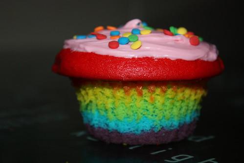Rainbow Cupcake!