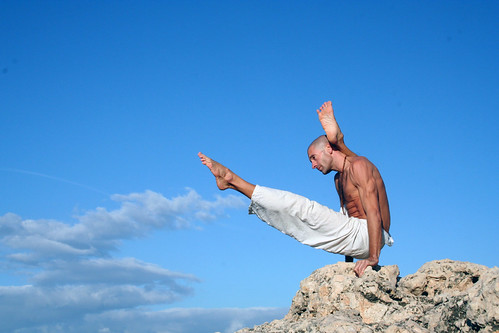 James DeMaria, Dance Yoga Instructor Ibiza