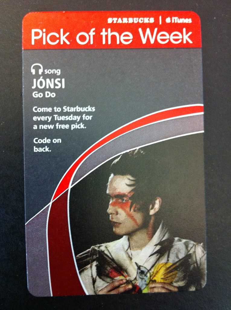 Starbucks iTunes Pick of the Week - Jónsi - Go Do