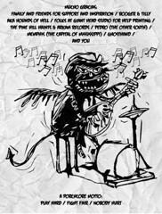 MING DONKEY - RECORD ART - SELF RELEASE - INSERT BACK (MING DONKEY) Tags: hotdog punkrock onemanband fyp vinylrecords bombon gonerrecords thatsincredible killerdreamer toysthatkill punkart recessrecords juxtopoz mingdonkey thegrumpies hairdosonfire dirtcultrecords marginmouth
