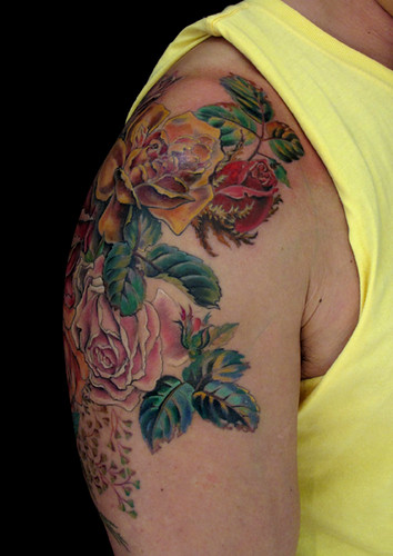 Victorian Rose Tattoo Victorian Rose Tattoo