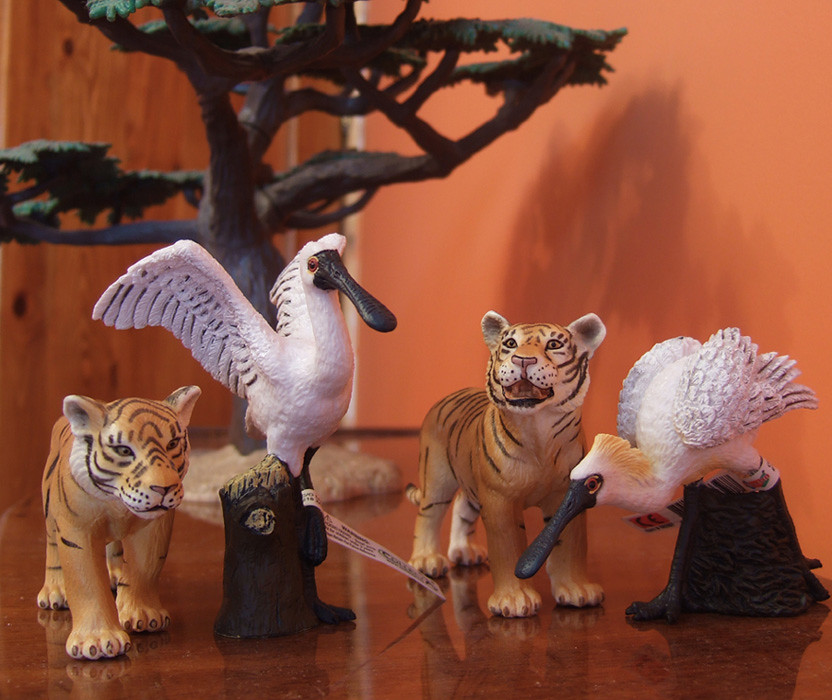 My first CollectA animals: the Beautiful Five 4884478935_62a2586870_b