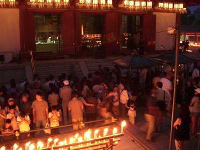 四天王寺 万燈会 2010.8.12