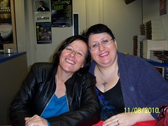 Keri Arthur and Tracey O'Hara book signing at Galaxy