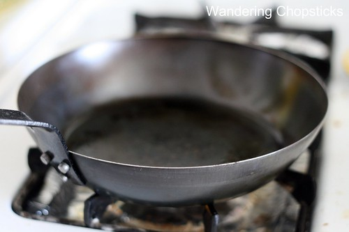 How to Season Black Steel Pans 5