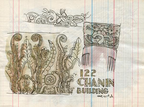 the chanin building - ny