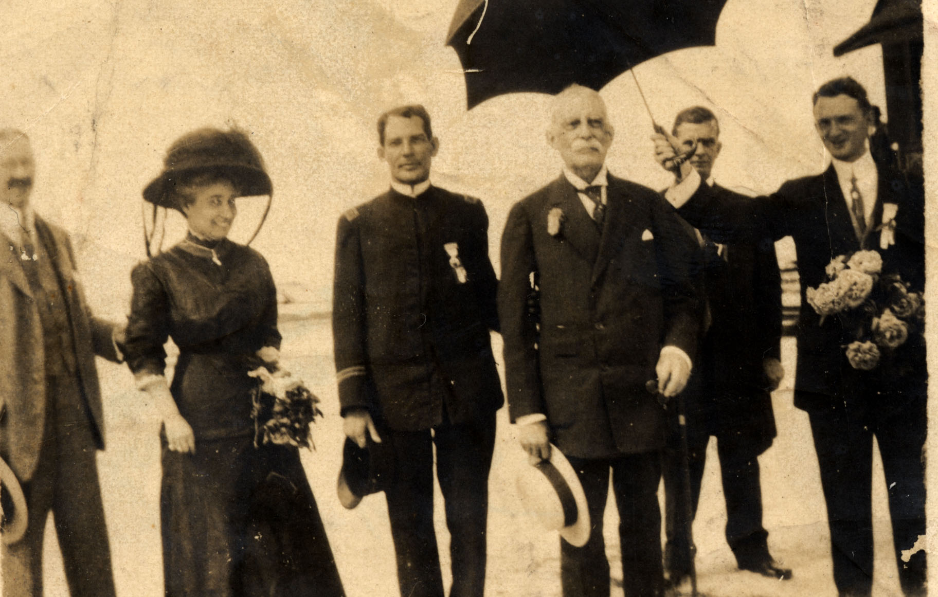 Henry & Mrs. Flagler arriving in Key West.