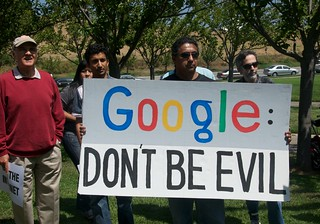 Net Neutrality protest at  Google HQ - GoogleR...
