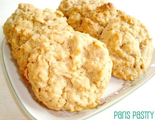 花生酱-燕麦饼干