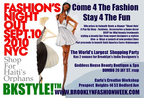 Fashion Night Out  Bkstyle for indie designers