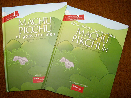 Ejemplares en Inglés y Quechua
